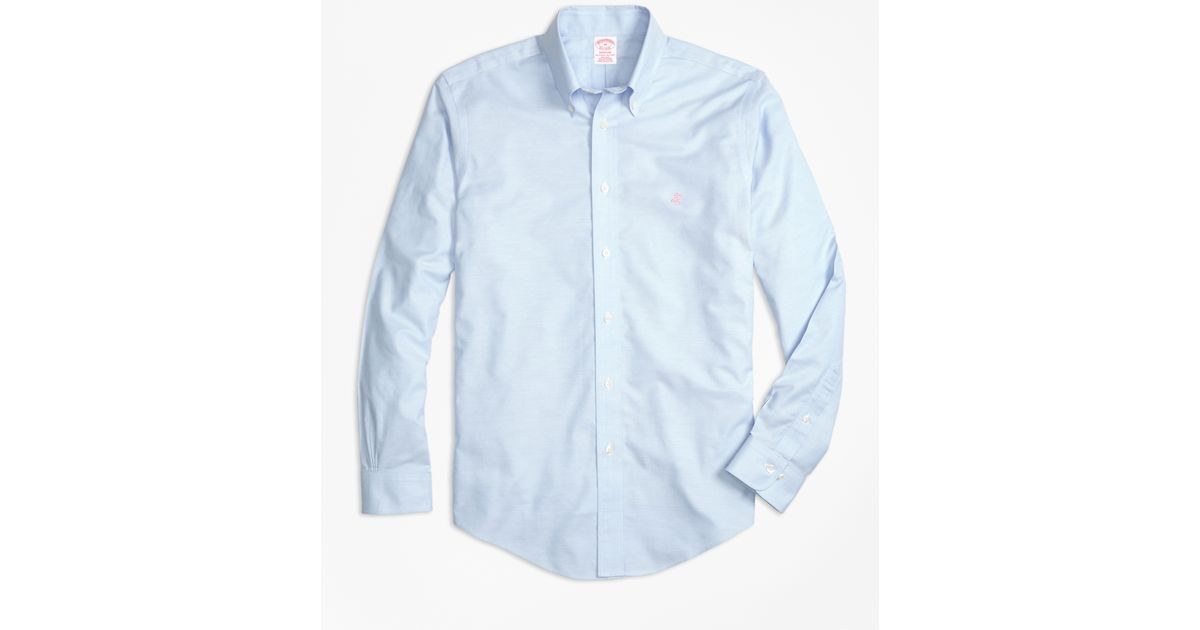 Brooks brothers non iron brookscool milano fit sport for Brooks brothers sports shirts