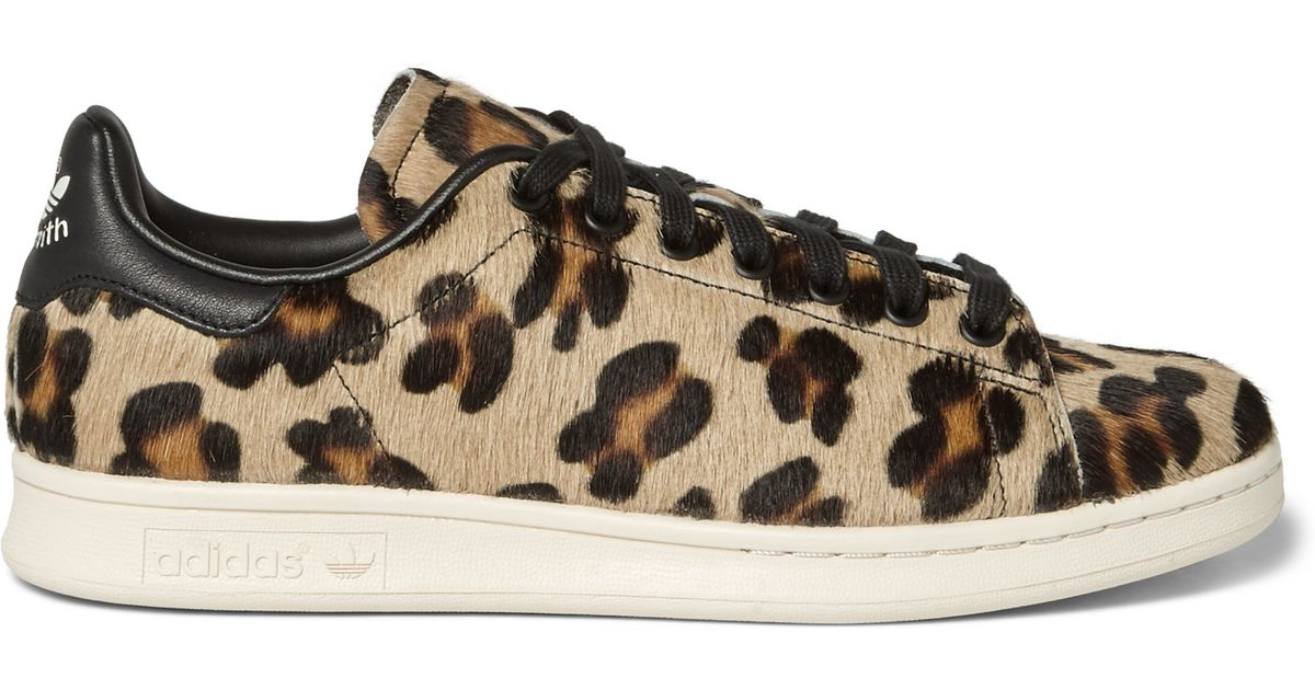 leopard adidas trainers