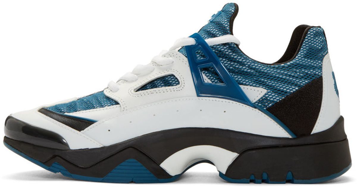 Lyst Blue Kenzo In top For And Sneakers White Men Sonic Low WID9EH2Y