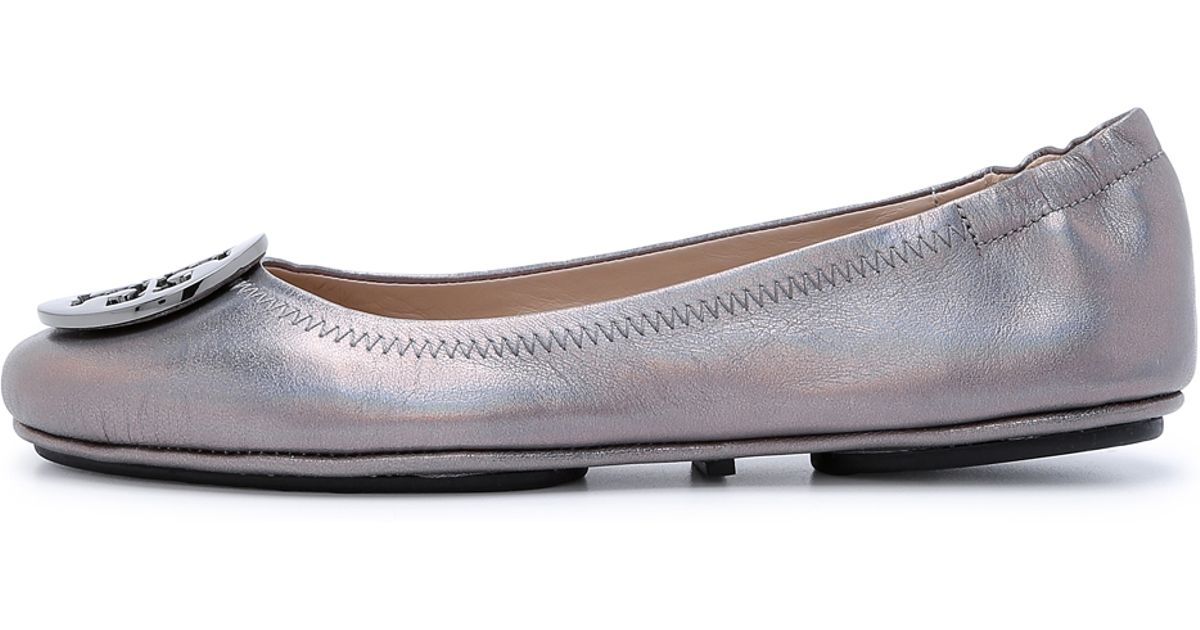 Tory Burch Minnie Travel ballerina flats Outlet Newest Clearance For Nice The Best Store To Get s5pItc1Jo0