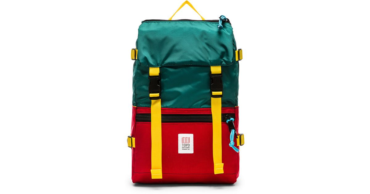 4c2eb7199 lyst topo designs rover pack in green for men .