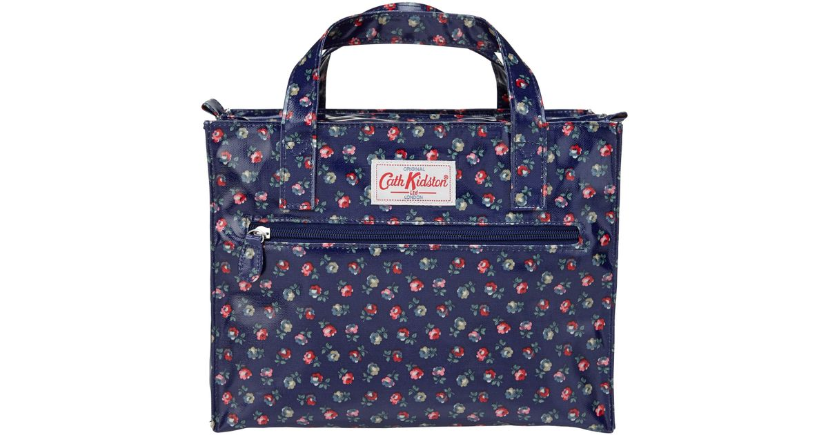 Lyst - Cath Kidston Elgin Ditsy Floral Print Box Bag In Blue