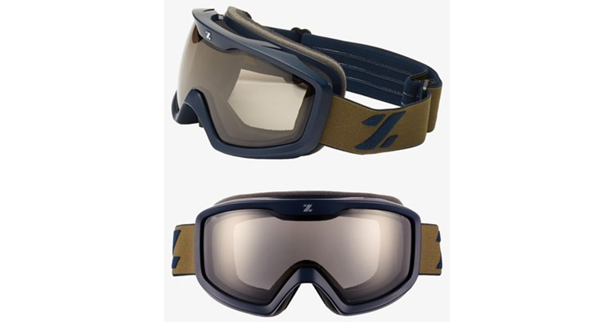 9303cffe7fb Lyst - Zeal Optics  tramline  Polarized Snow Goggles - Oxford Navy in Blue