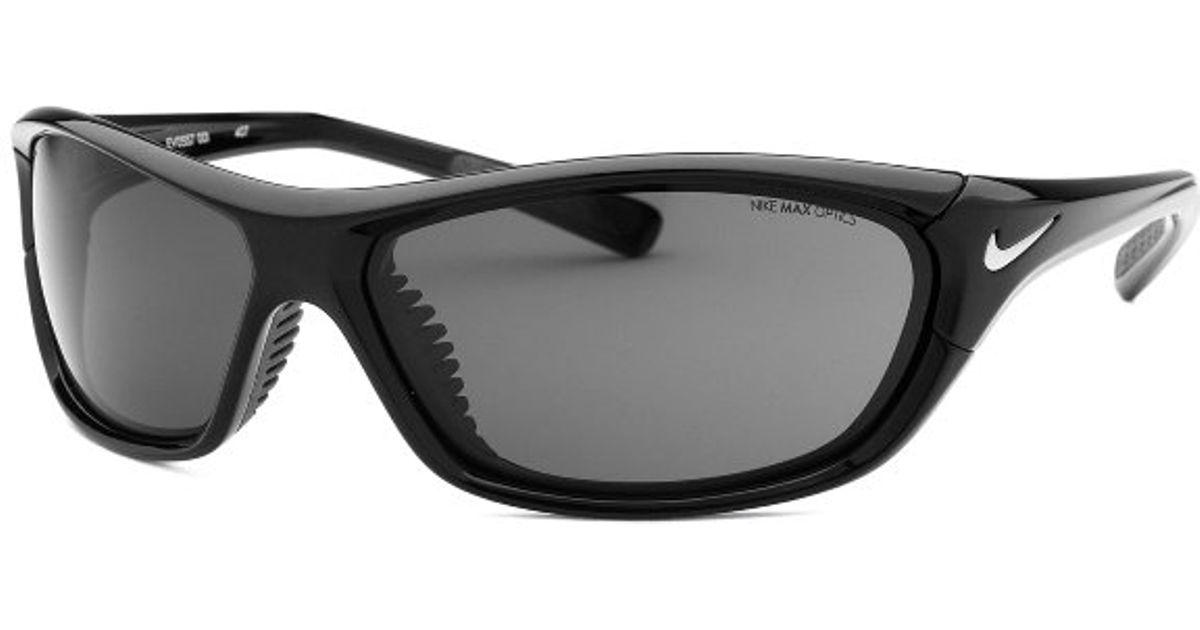 8b9e361b27a Nike Men s Veer Wraparound Black Sunglasses in Black for Men - Lyst