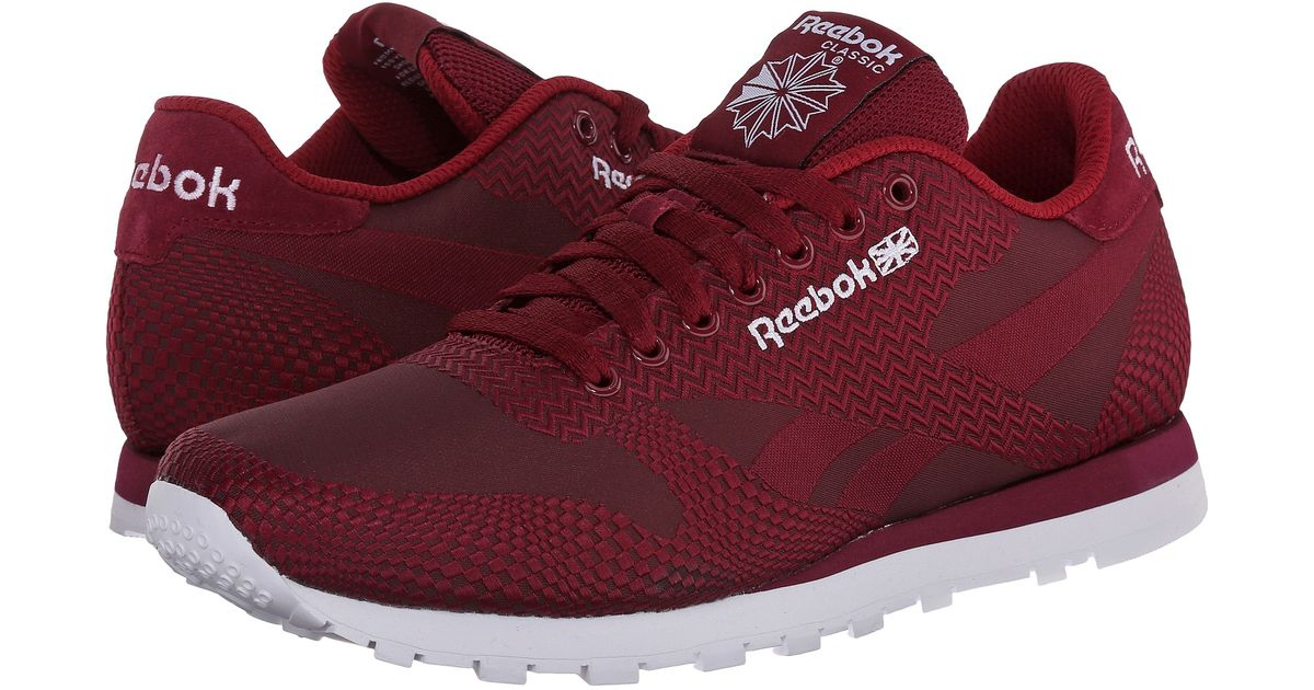 6bc56b35785 Lyst - Reebok Classic Runner Jacquard in Red for Men