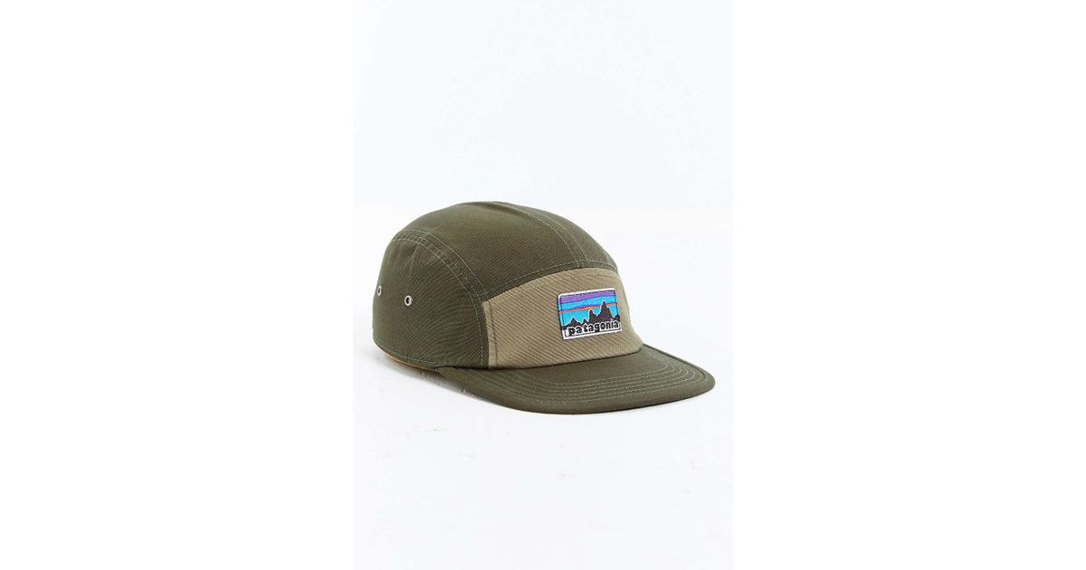 70244662 Patagonia Retro Fitz Roy Label 5-panel Baseball Hat for Men - Lyst