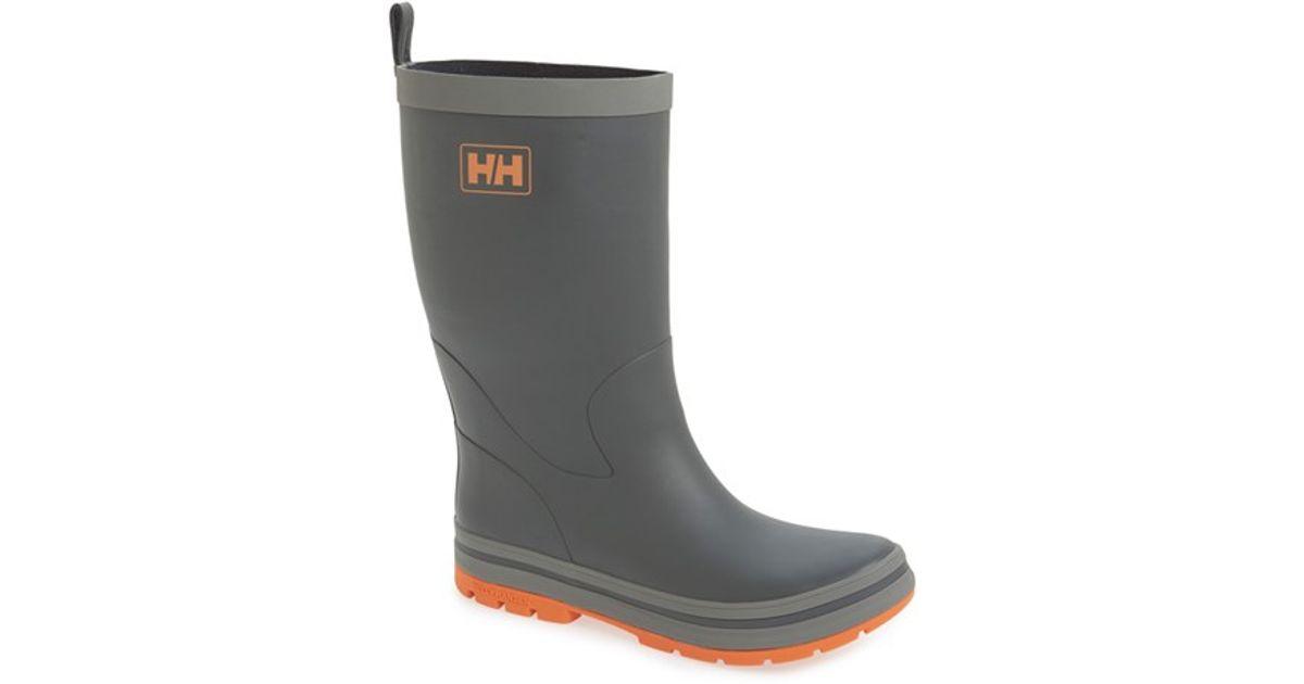 Helly Hansen Midsund 2 Rain Boot In Gray For Men Lyst