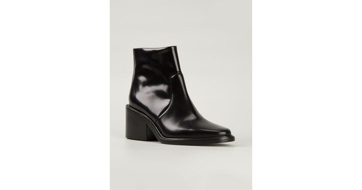 83f04b25f957 Lyst - Acne Studios  Daxon  Ankle Boots in Black