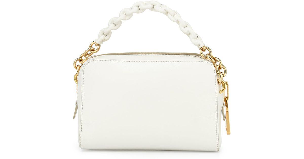 a962c19c1aa Lyst - Tom Ford Chain-Strap Cross-Body Bag in White