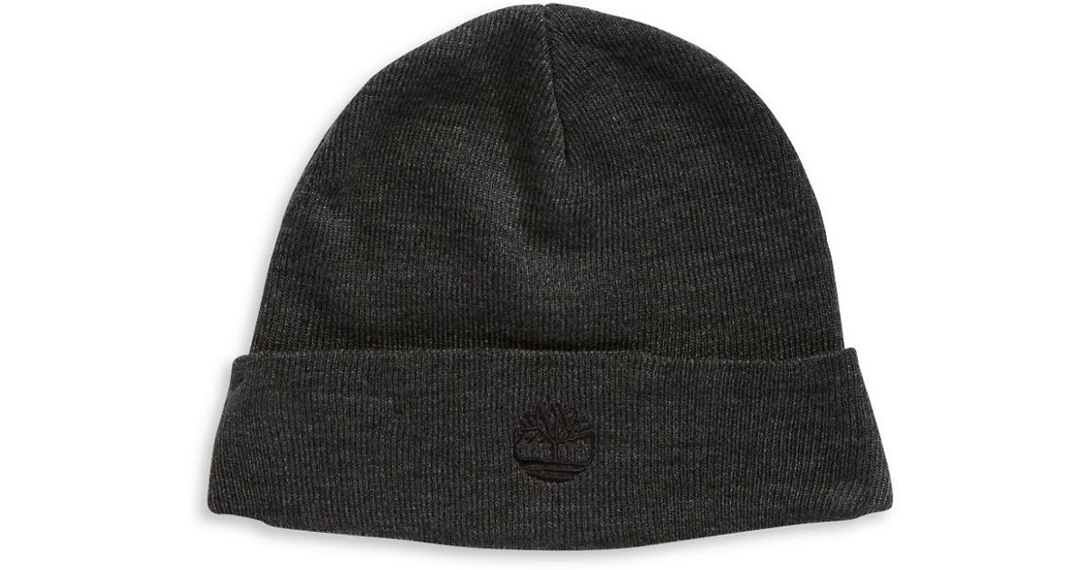 ea146fa78bd Lyst - Timberland Folded Knit Cap for Men