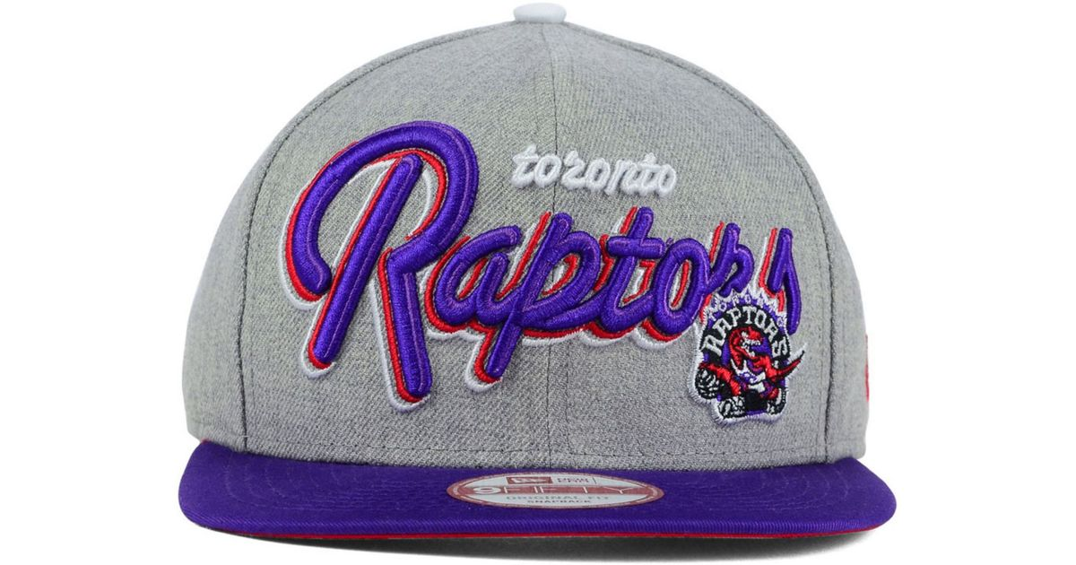 best service f3252 d2b55 ... coupon code for lyst ktz toronto raptors hwc the heather bright nights 9fifty  snapback cap in