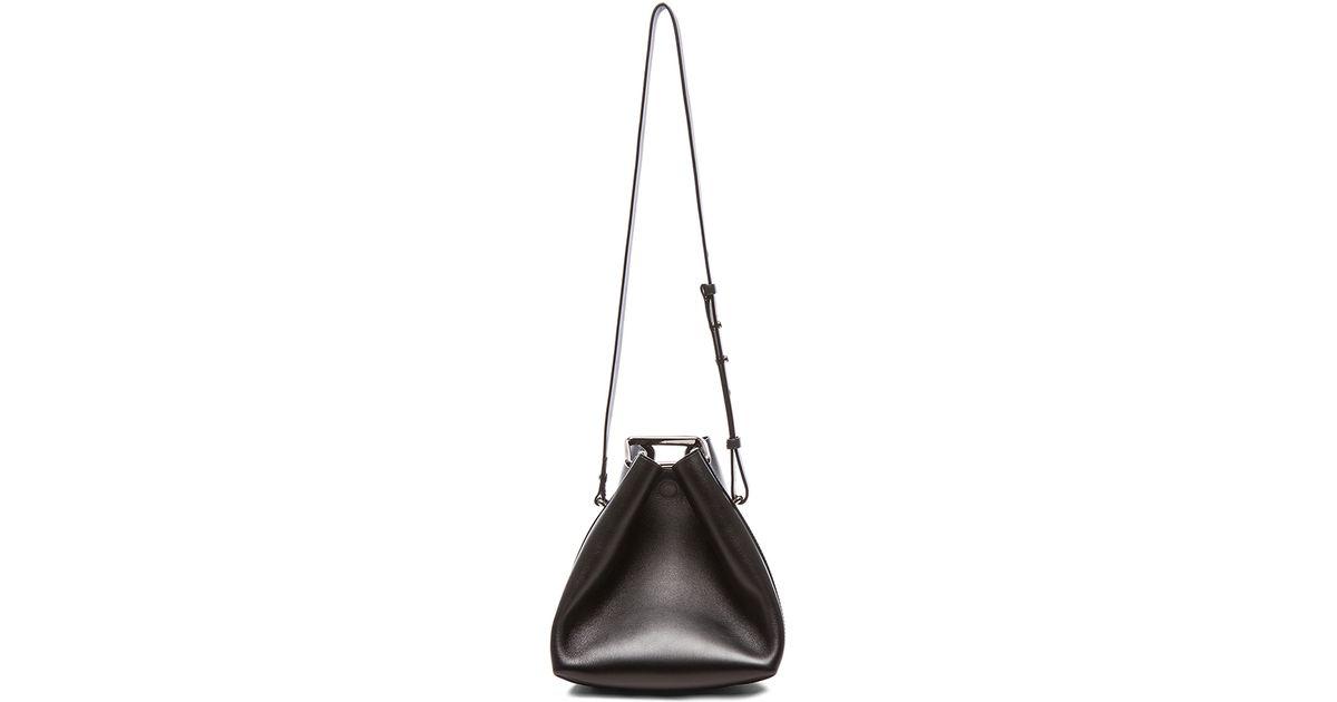 3 1 Phillip Lim - Black Quill Mini Bucket Bag - Lyst