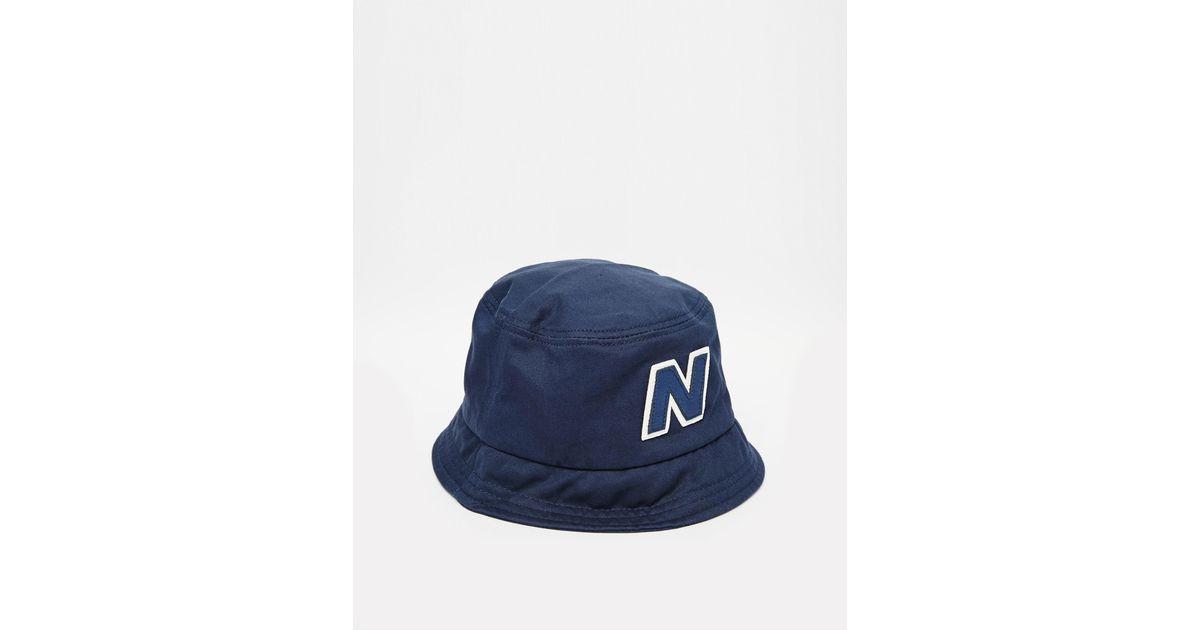 b63009a85935c New Balance Glasto Bucket Hat in Blue for Men - Lyst