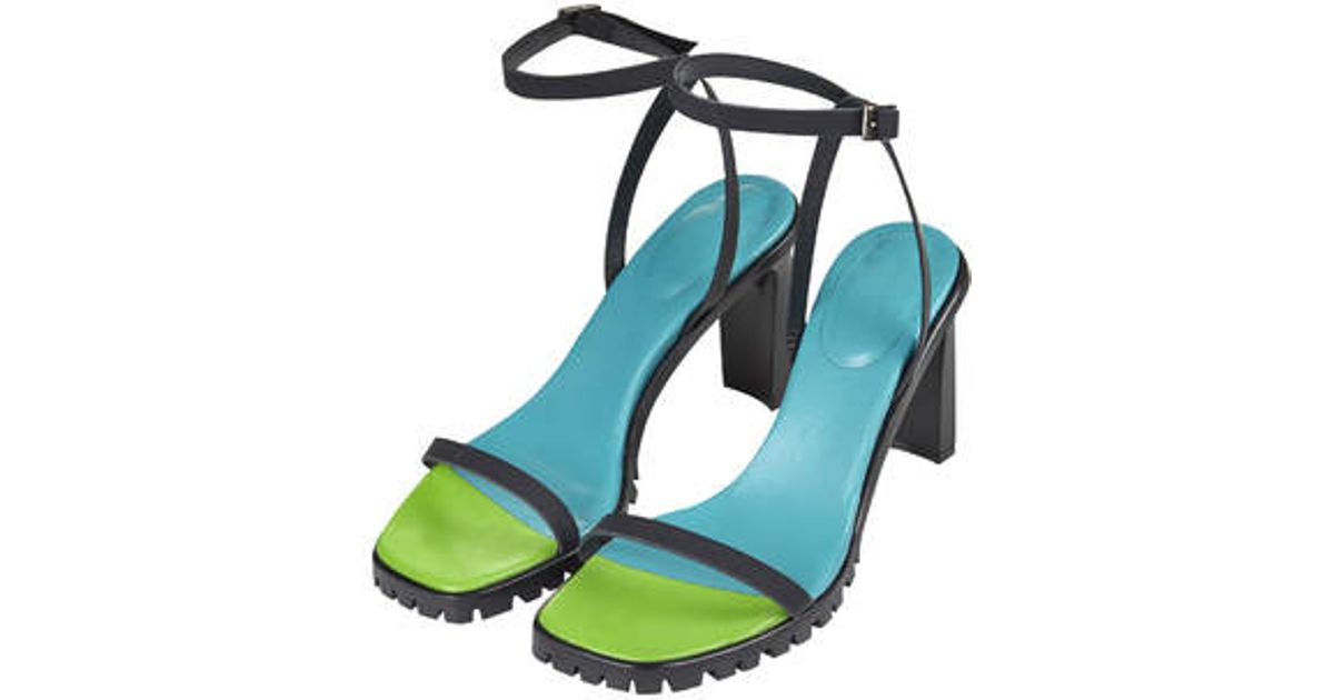 Marques' Almeida Marques'Almeida Multistrap Platform Sandals outlet shop outlet sale for nice free shipping for cheap sale 2015 VoofB0I
