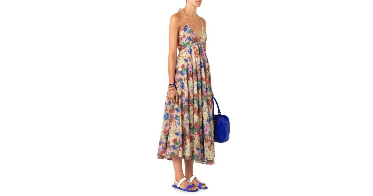 d5e7949f9087 Zimmermann Haze Floral-Print Dress - Lyst