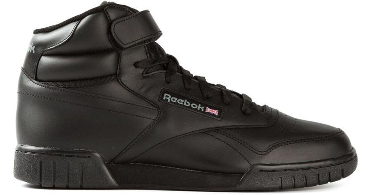 Reebok  ex-o-fit  Hi-top Sneakers in Black for Men - Lyst a49e9318b