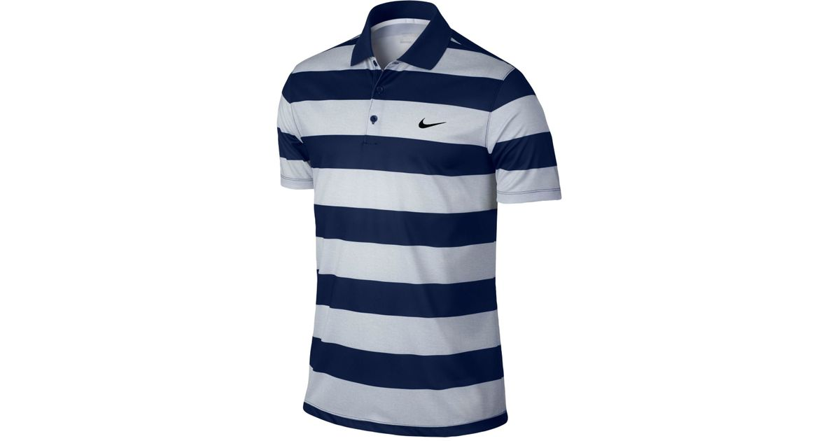 78a50226f Lyst - Nike Men s Victory Bold Dri-fit Golf Polo in White for Men