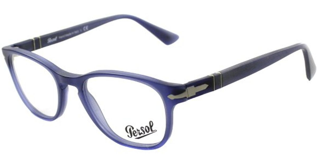 5f5aa72545 Persol Superma Po 3085v 9020 Cobalto Blue Plastic Eyeglasses-51mm in Blue  for Men - Lyst