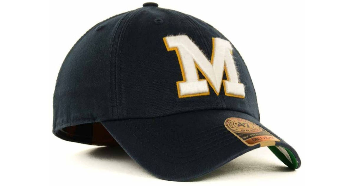 official photos a96c8 76eef Lyst - 47 Brand Missouri Tigers Franchise Cap in Blue for Men