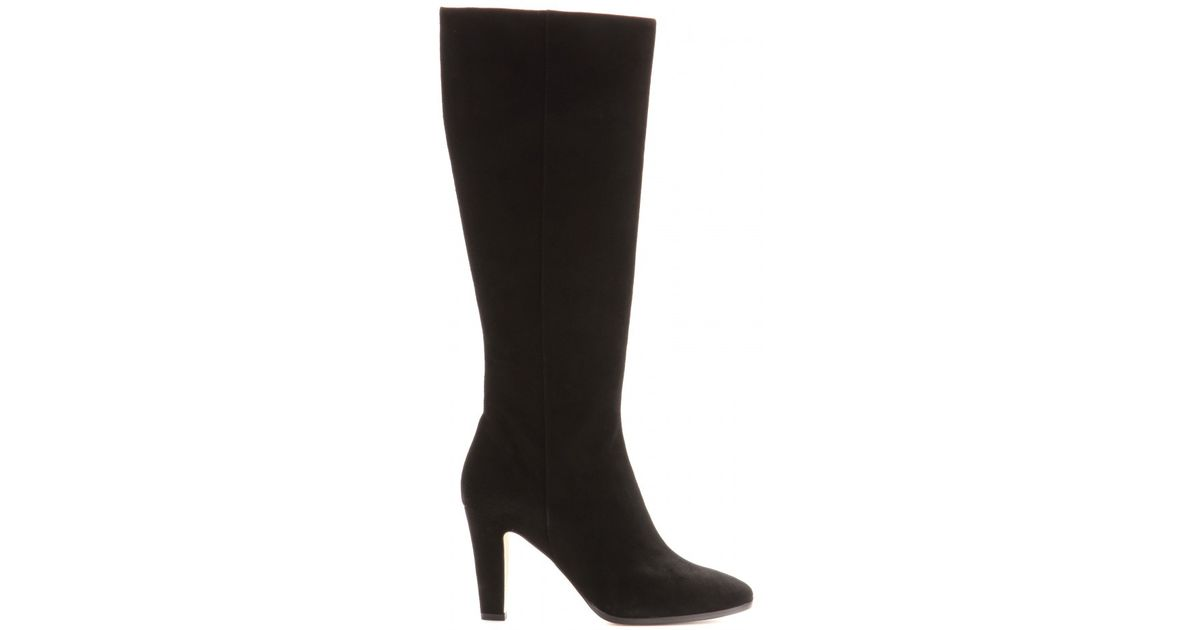 d2e91c01f58 Lyst - Jimmy Choo Martine Suede Boots in Black
