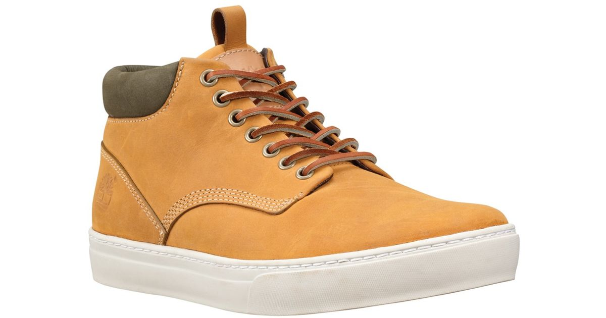 Timberland Brown Earthkeepers Adventure Cupsole Chukka Boots for men