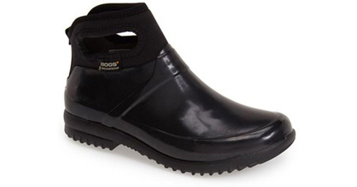 bogs seattle waterproof boot in black lyst