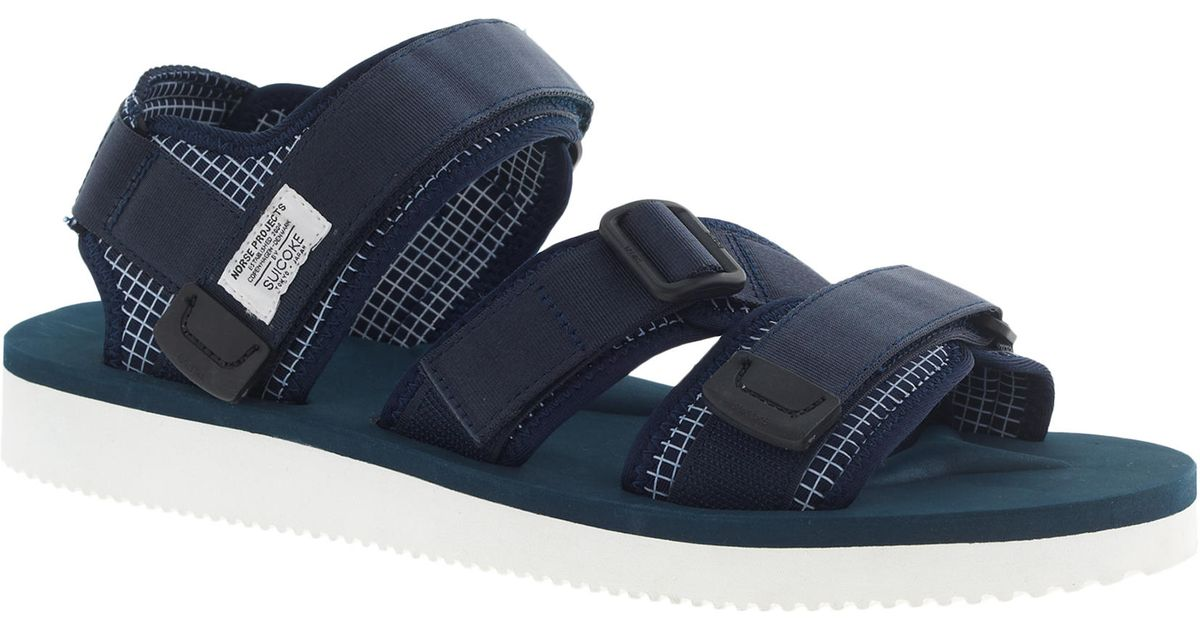 74b02288dd1 J.Crew Norse Projects™ X Suicoke Sandals in Blue for Men - Lyst