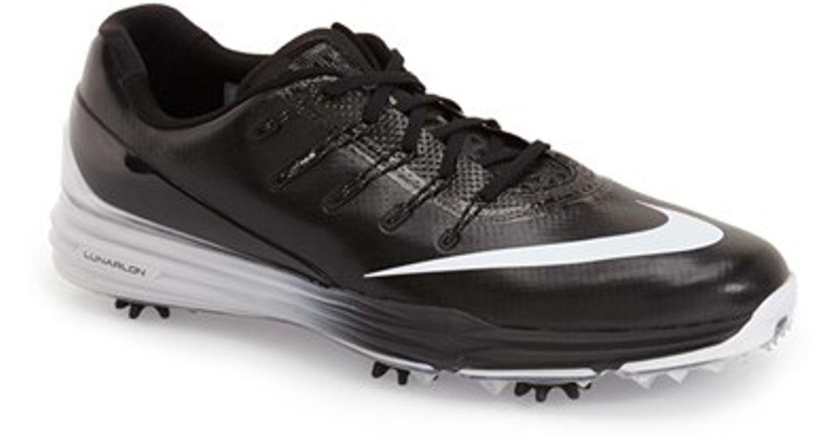 b8ee9818a1e1 Lyst - Nike  lunar Control 4  Golf Shoe in Black for Men