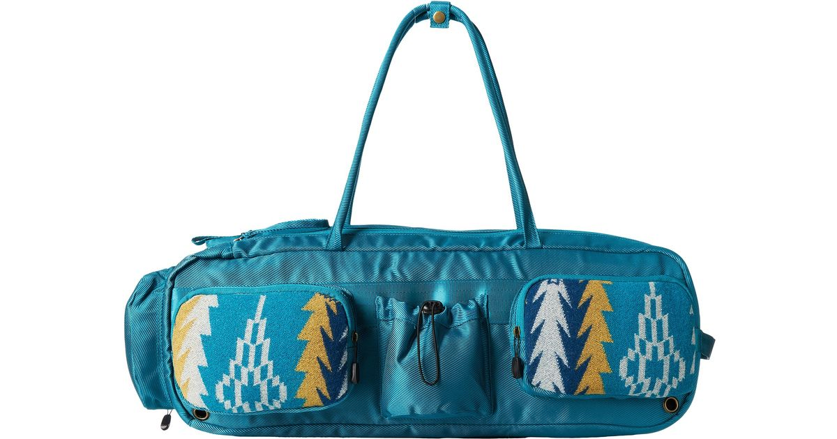 5c97ea7efc Lyst - Pendleton Yoga Bag in Blue