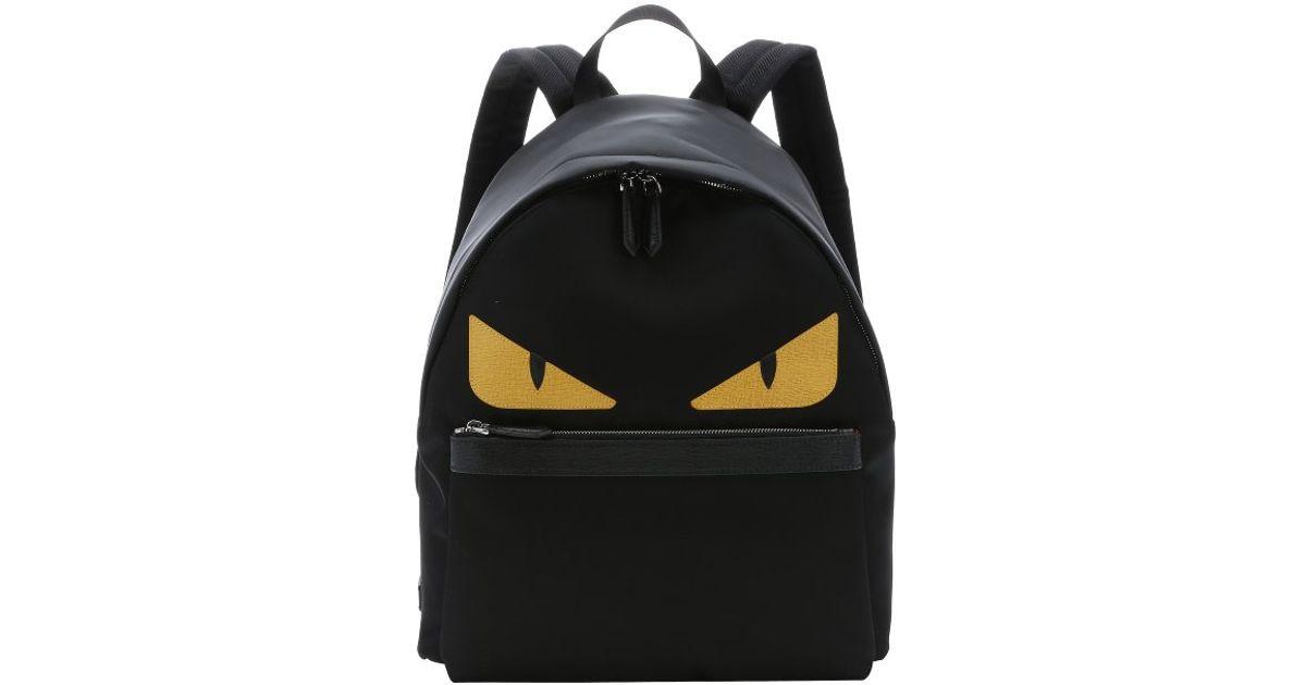 Fendi Monster Face Backpack