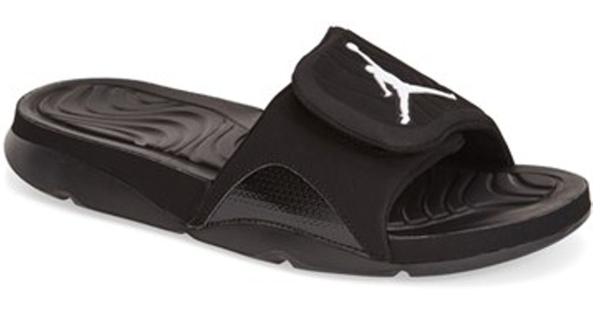 2295d20cba284e Lyst - Nike  jordan Hydro 4  Slide Sandal in Black for Men