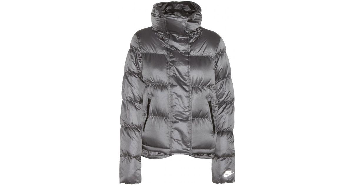 Lyst - Nike Cascade Down Jacket in Black 2591794829f7