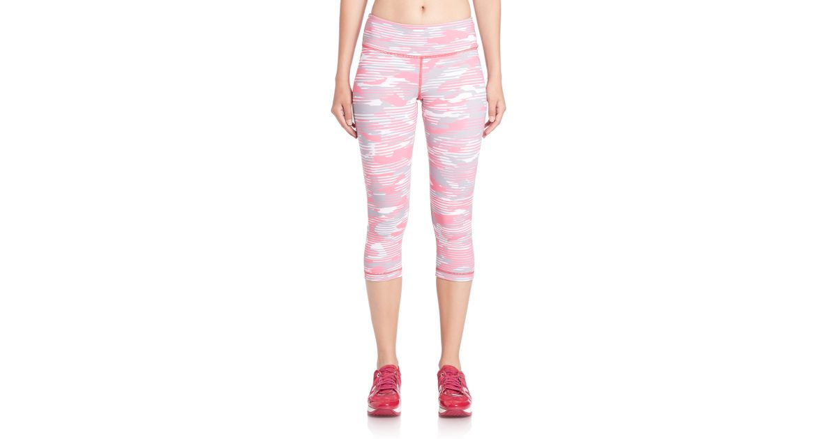 Vimmia Breast Cancer Awareness Camo-print Leggings in Pink ...