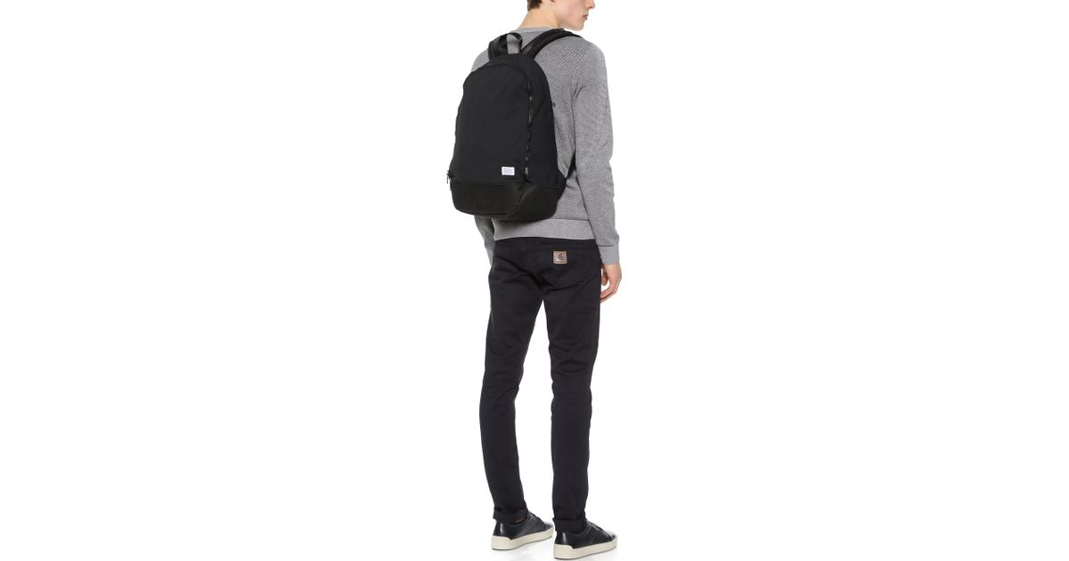 8b463f2b9c4 Norse Projects Einar Nylon Backpack in Black for Men - Lyst