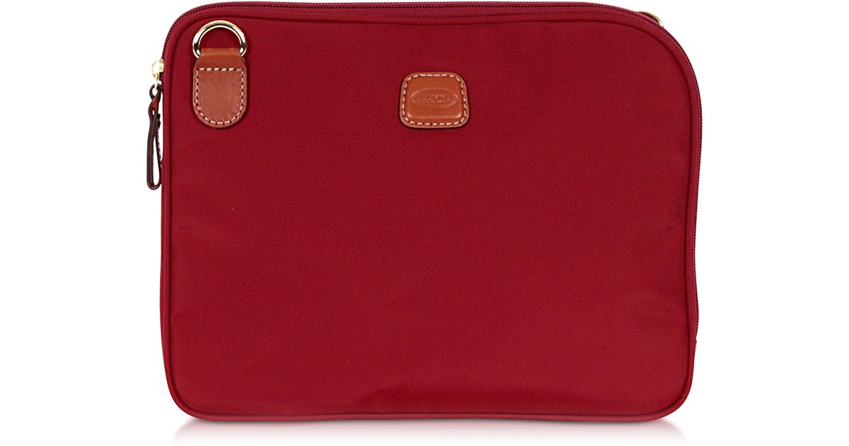c0b03c9532d1 Lyst - Bric S X-bag Large Nylon Travel Toiletry Bag in Red