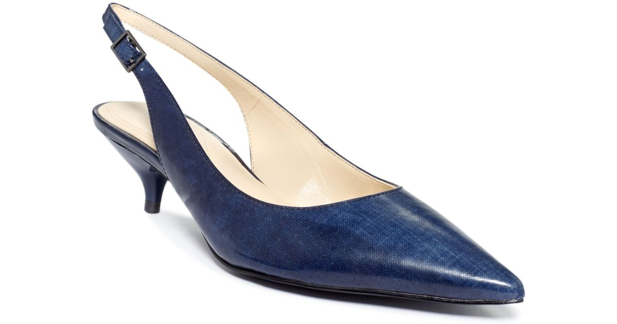 58dd6a0d03c Lyst - Tahari Womens Faye Pumps in Blue