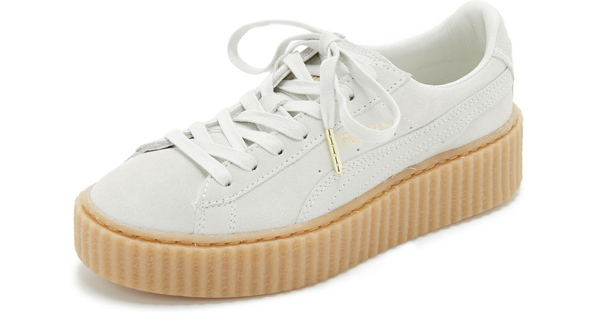 Puma In Lyst Whiteoatmeal X Star S6xxhrxn Sneakers Creeper Rihanna White CwH5qcI