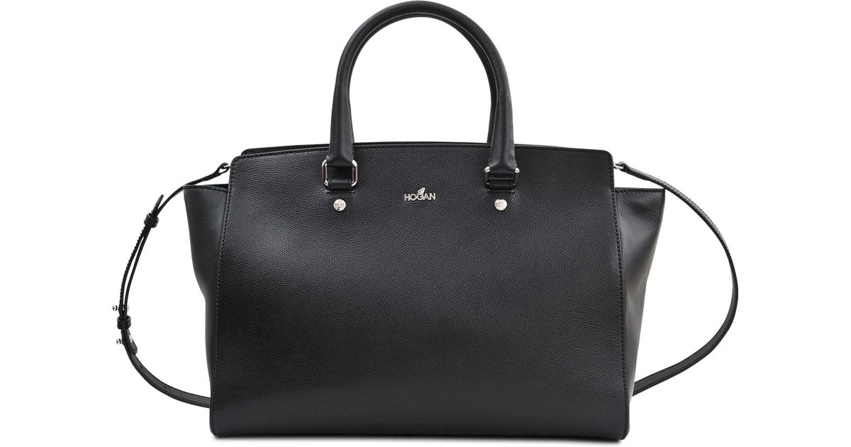 Lyst - Hogan Classic Print Bag in Black dc87f872c2e2b