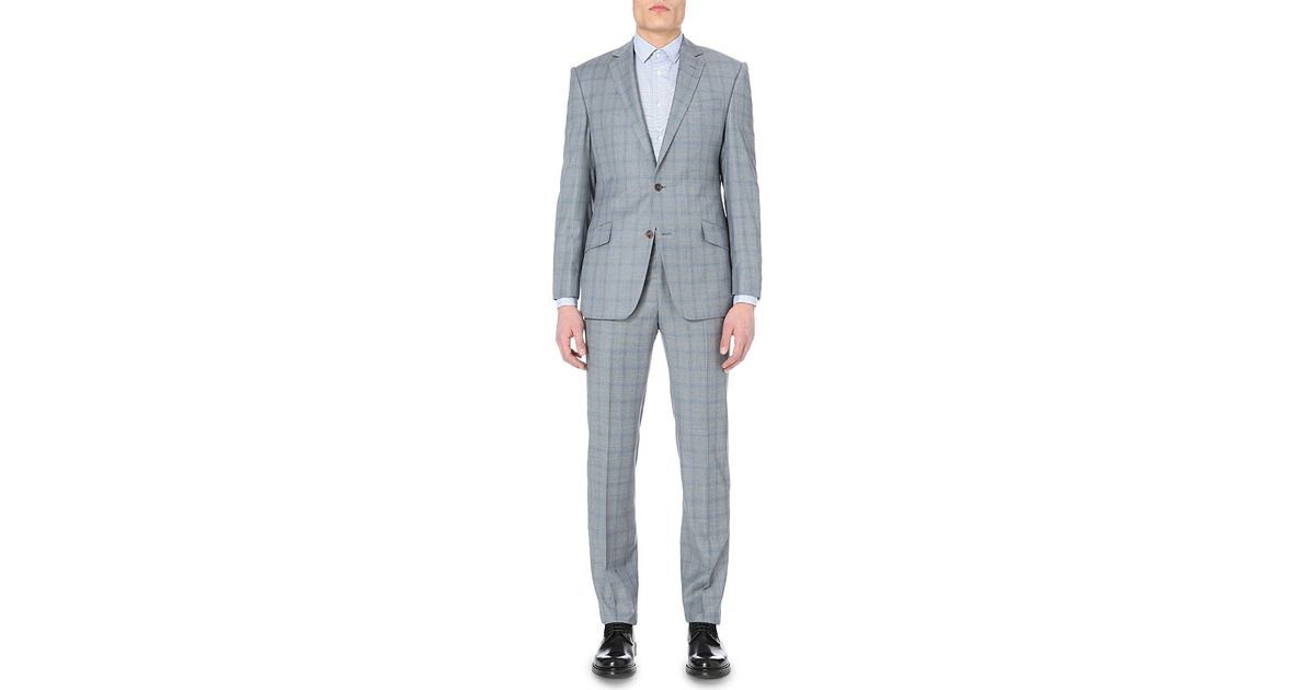 2810c585c9b3 Richard James Mill-single-breasted Wool Suit in Gray for Men - Lyst