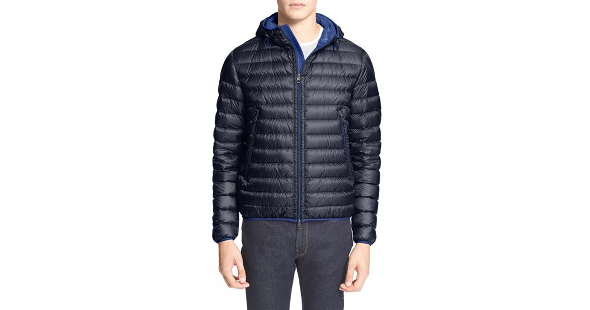 fcabed3e6 Lyst - Moncler  mir  Hooded Quilted Down Jacket in Blue for Men