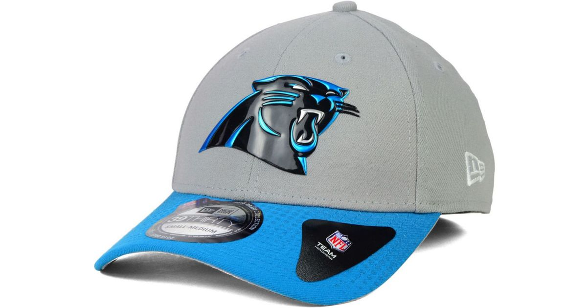 f1172ffc71a Lyst - KTZ Carolina Panthers 2015 Nfl Draft 39Thirty Cap in Gray for Men
