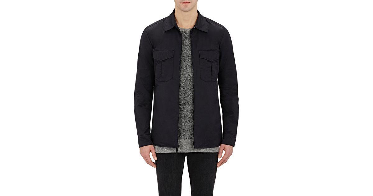 Rag Bone Men 39 S Shieff Shirt Jacket In Black For Men Lyst