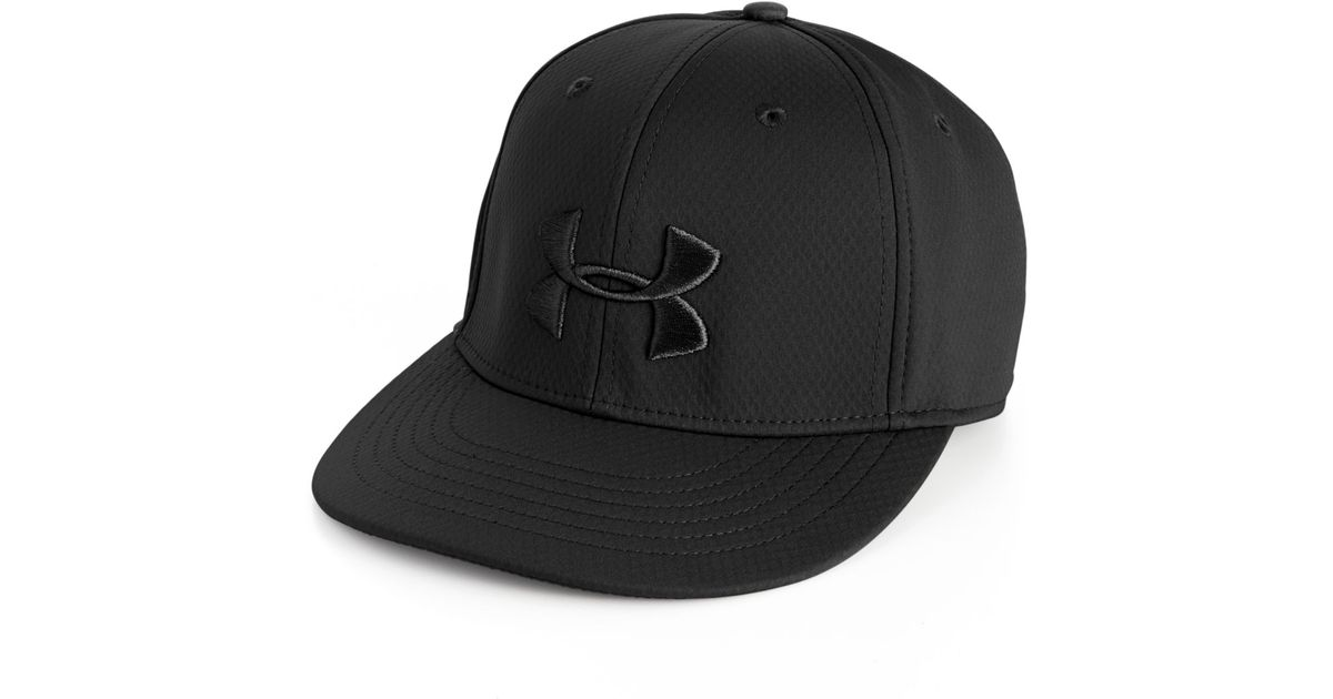 676b85ca888 Lyst Under Armour Elevate Stretch Fit Hat In Black For Men