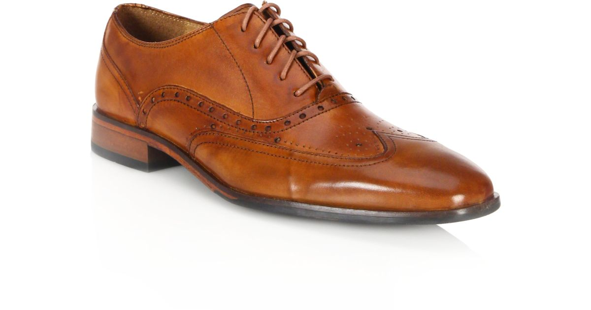 Saks Fifth AvenueCOLLECTION BY MAGNANNI Selo Leather Oxfords iKXO40bzB