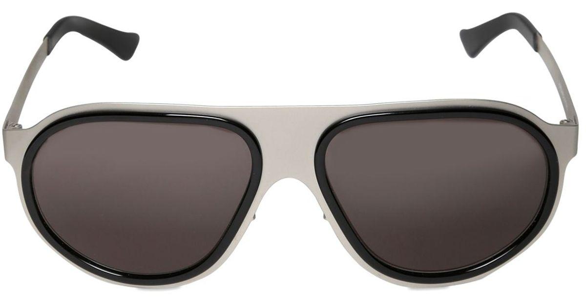 86872d0e9f Source · Lyst Lgr Handmade Comoros Aluminum Sunglasses in Metallic for Men