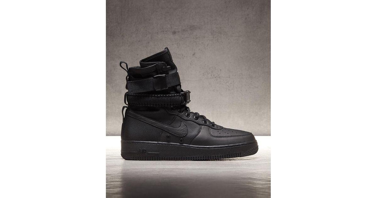 e585e7366fa628 Nike Sf Air Force 1 High Trainer in Black for Men - Lyst