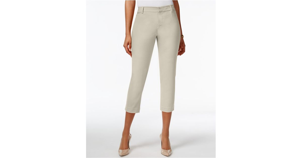 Awesome Tommy Hilfiger Womens Crop Capri Pants Rolled Cuff Pant Lightweight