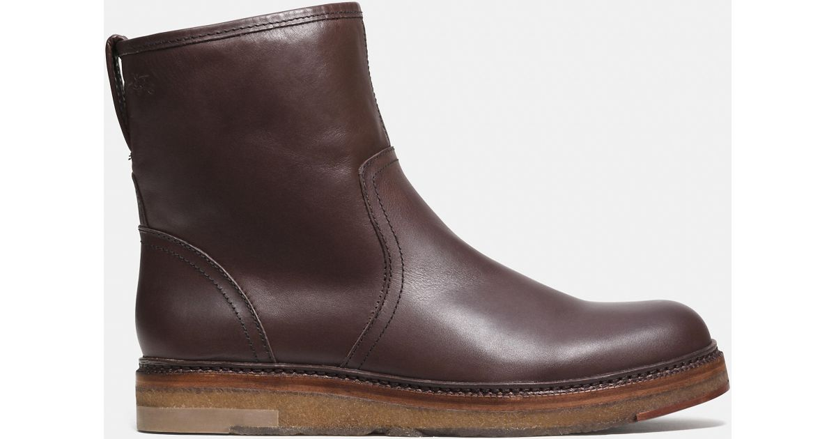 Derby Boot With ShearlingCoach 0tqV1sSCg