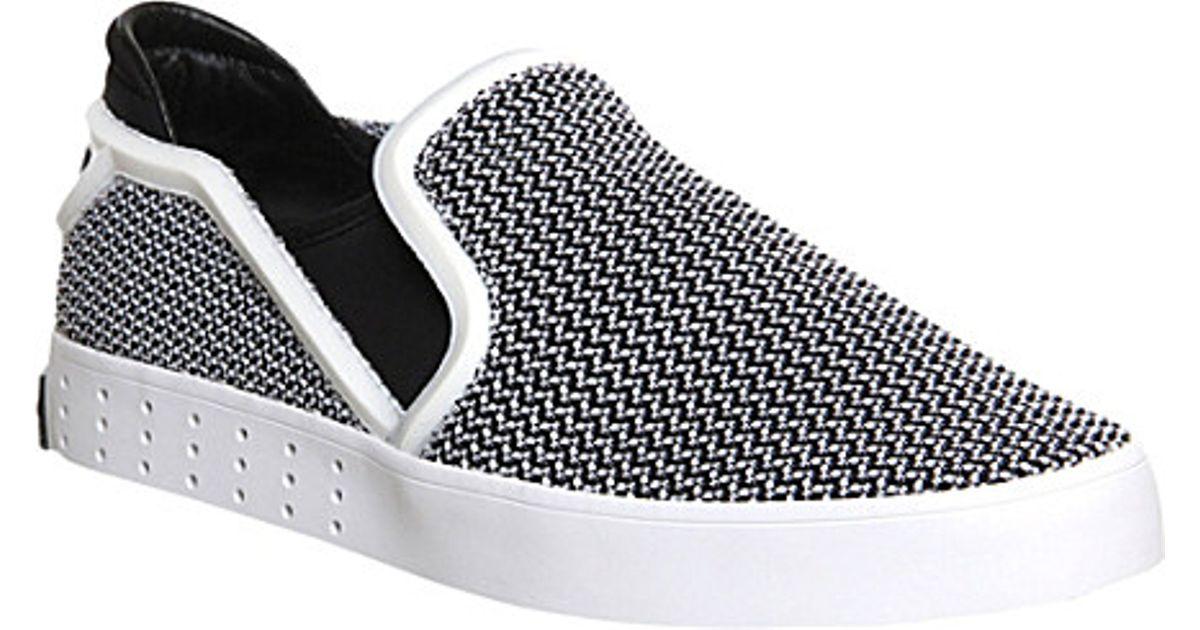 29ad605a700d2 Y-3 Y3 Laver Slip-On Shoes - For Men in Black for Men - Lyst
