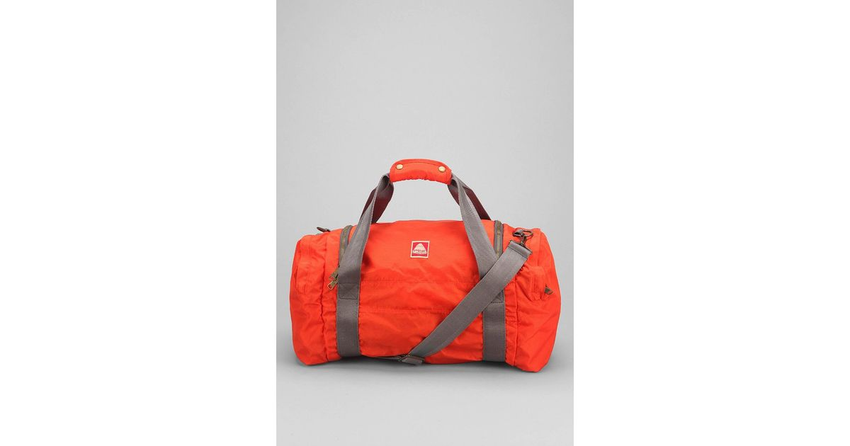 Jansport Hipster Duffle Bag in Orange for Men | Lyst